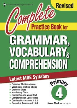 Complete Practice Book For Grammar, Vocabulary & Comprehension 4