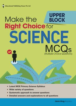 Make the Right Choice for Science MCQs - Upper Block Pri 5/6