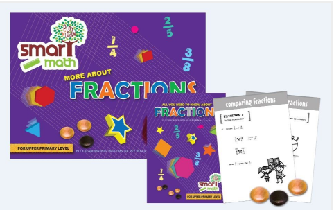 Math Skills on Fractions for Upper Primary Play N Learn Learning Resource