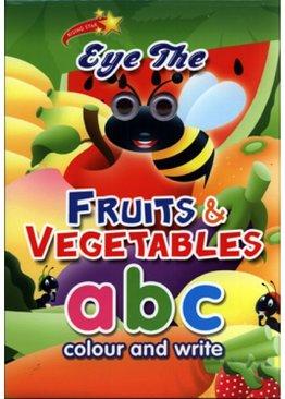 Eye the Fruits & Vegetables - abc Colour & Practice