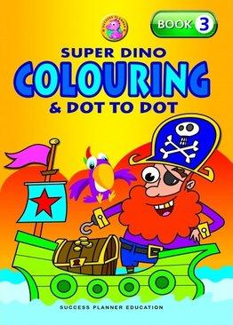 Super Dino Colouring Book 3