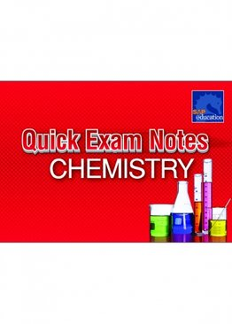 Quick Exam Notes Chemistry