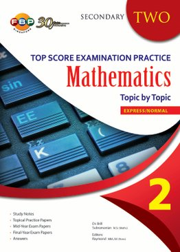Maths Top Score Examination Practice Topic by Topic S2
