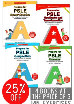 Prepare For PSLE 4-book Pack