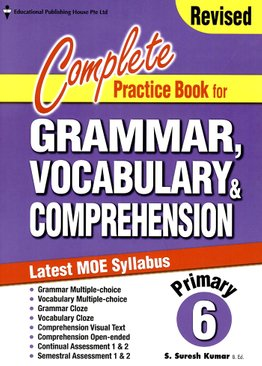 Complete Practice Book For Grammar, Vocabulary & Comprehension 6