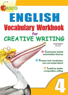 English Vocab Workbook for Creative Writing 4