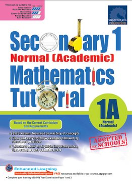 Secondary One Normal [Academic] Mathematics Tutorial 1A