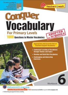 Conquer Vocabulary 6