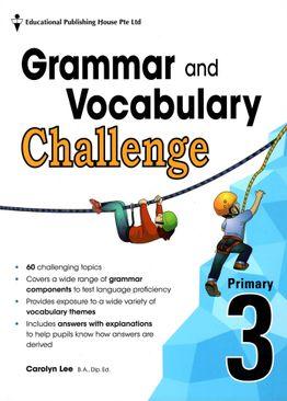 Grammar and Vocabulary Challenge P3